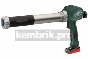 Пистолет для герметика Metabo Powermaxx kp (602117600)